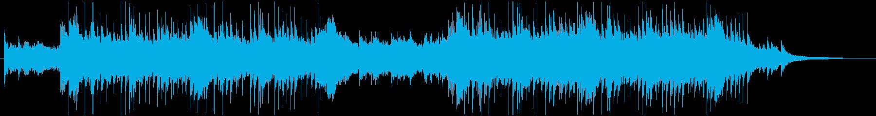 琴と和太鼓の壮大でメロディアスな和風曲の再生済みの波形
