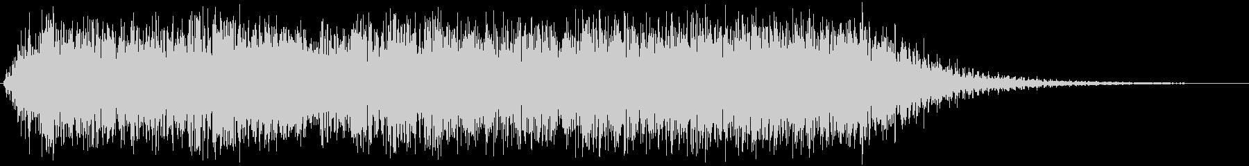 ジャイアントスチールドア:スライド...の未再生の波形