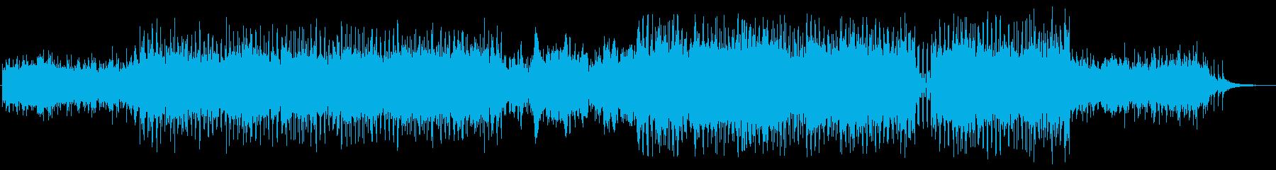 ゆったりとアコギのハーモニクスが美しいの再生済みの波形