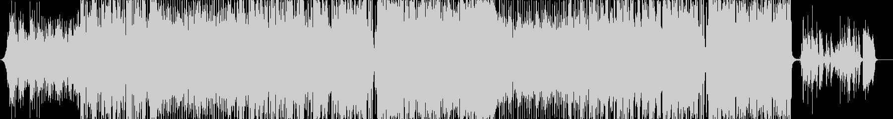 和風ダブステップの女性ボーカル曲の未再生の波形