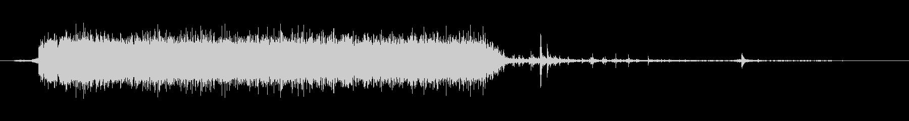 水 タップフローウルトラハードショ...の未再生の波形
