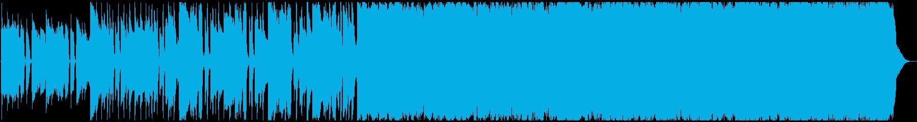 バイクで爆走したくなる洋楽風の曲-60秒の再生済みの波形