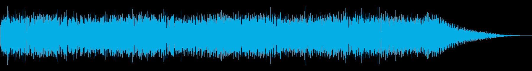 軽快なオールディーズ風ロックナンバー☆の再生済みの波形