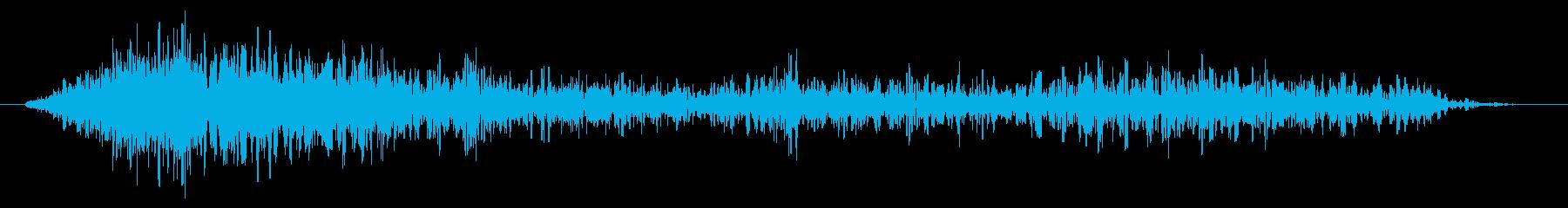 エナジービームスの邪悪な響きが現れるの再生済みの波形