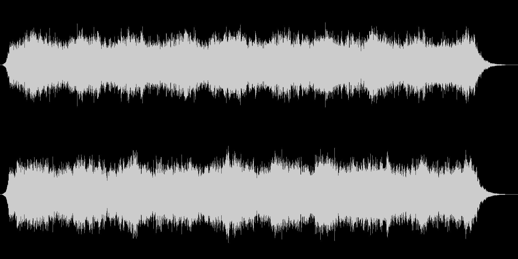 低音のドローン(持続音)です。の未再生の波形