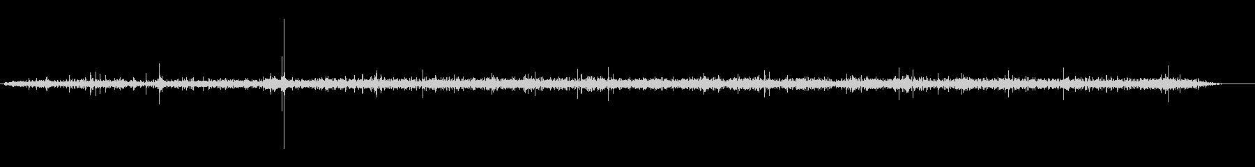 自転車 リケッティペダルシフトアップ01の未再生の波形