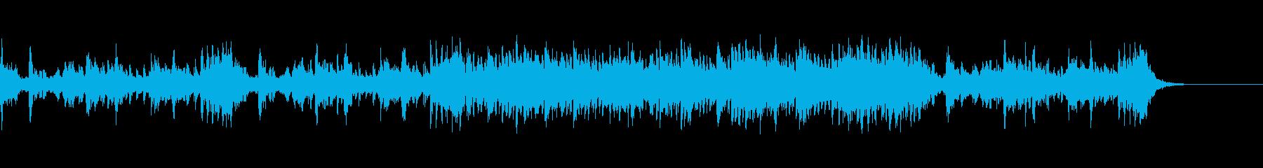 軍事ゲーム戦闘曲の再生済みの波形
