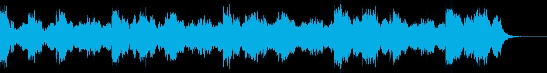 空気感・近代的・おしゃれジングルの再生済みの波形