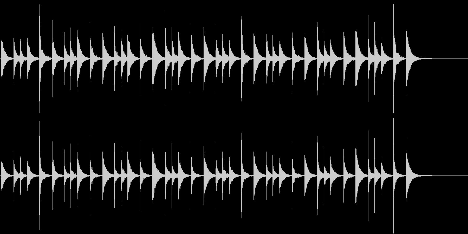 タンバリン:リオ:リズム、タンバリン音楽の未再生の波形