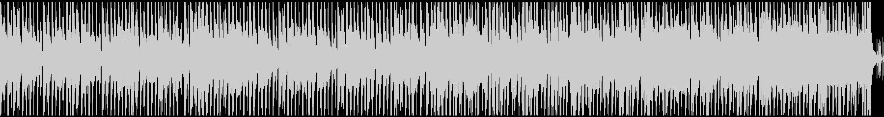 ハッピー&ポップな曲(ループ)の未再生の波形