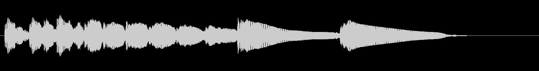 エレキギター5弦チューニング3リバーブの未再生の波形