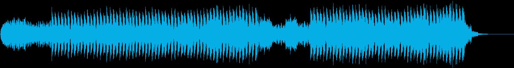 おしゃれ・モダン・EDM3の再生済みの波形