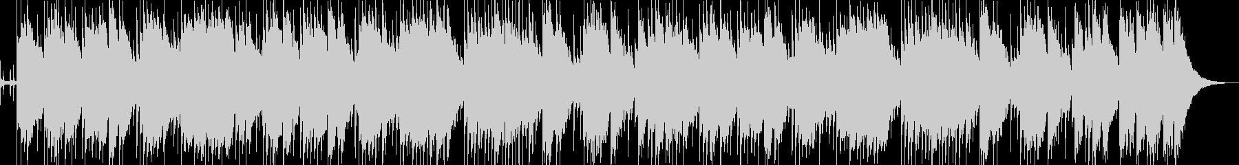 ゆったりとしたアコギのバラードの未再生の波形