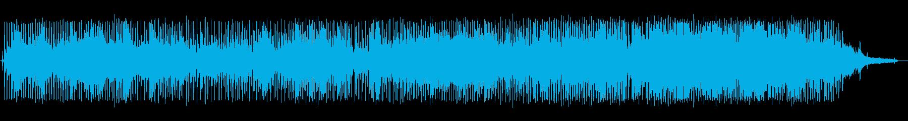 サックスを使用したライブサウンドア...の再生済みの波形