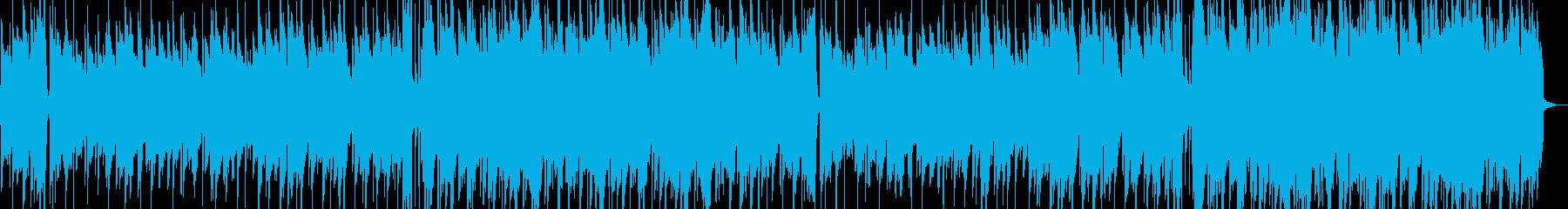 演歌風インストの再生済みの波形