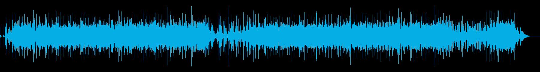 即興サックスが鳴り響くシンプルファンク!の再生済みの波形