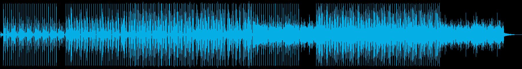 POPなイラストレーションで描かれた宇宙の再生済みの波形