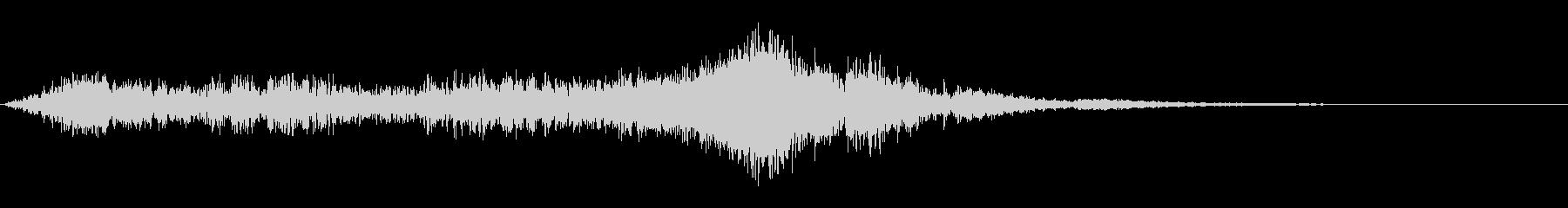 ポジトロン波バーストの未再生の波形