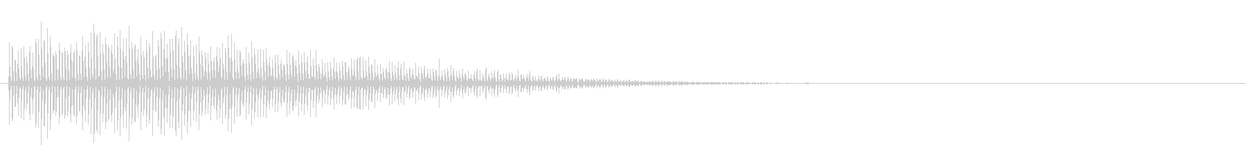 定番「カーッ!」ビブラスラップの音FX4の未再生の波形