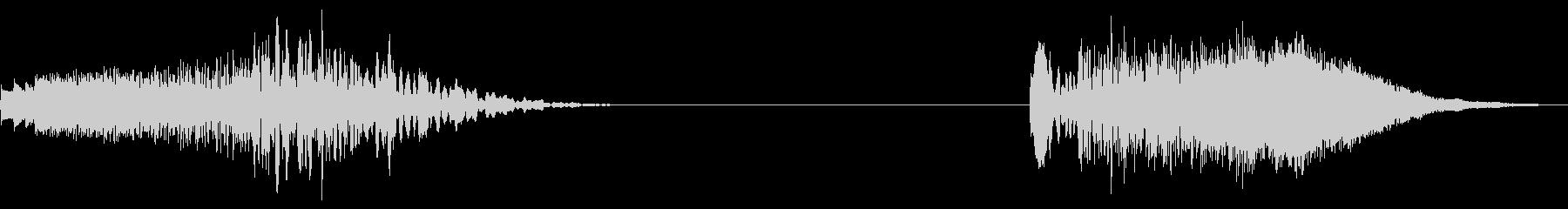 ソフトチャイムスイープ、2バージョ...の未再生の波形
