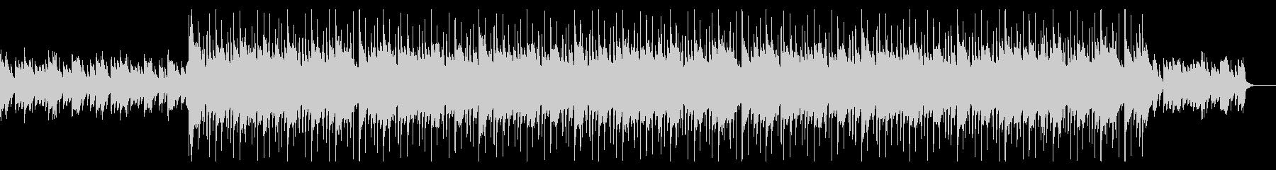 悲しいシーンで流れるピアノ曲の未再生の波形