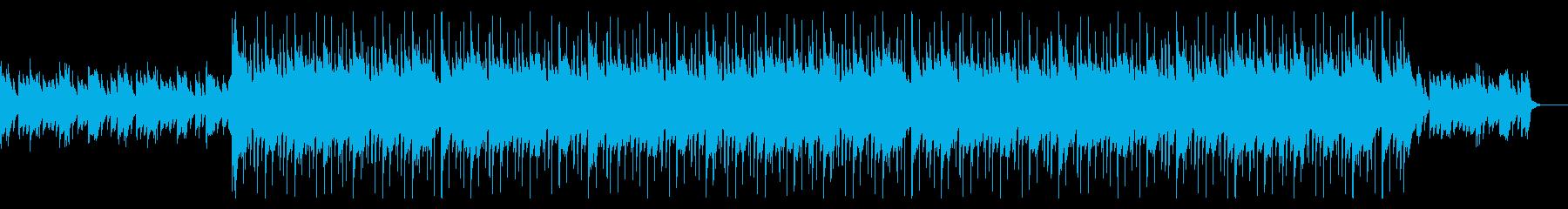 悲しいシーンで流れるピアノ曲の再生済みの波形