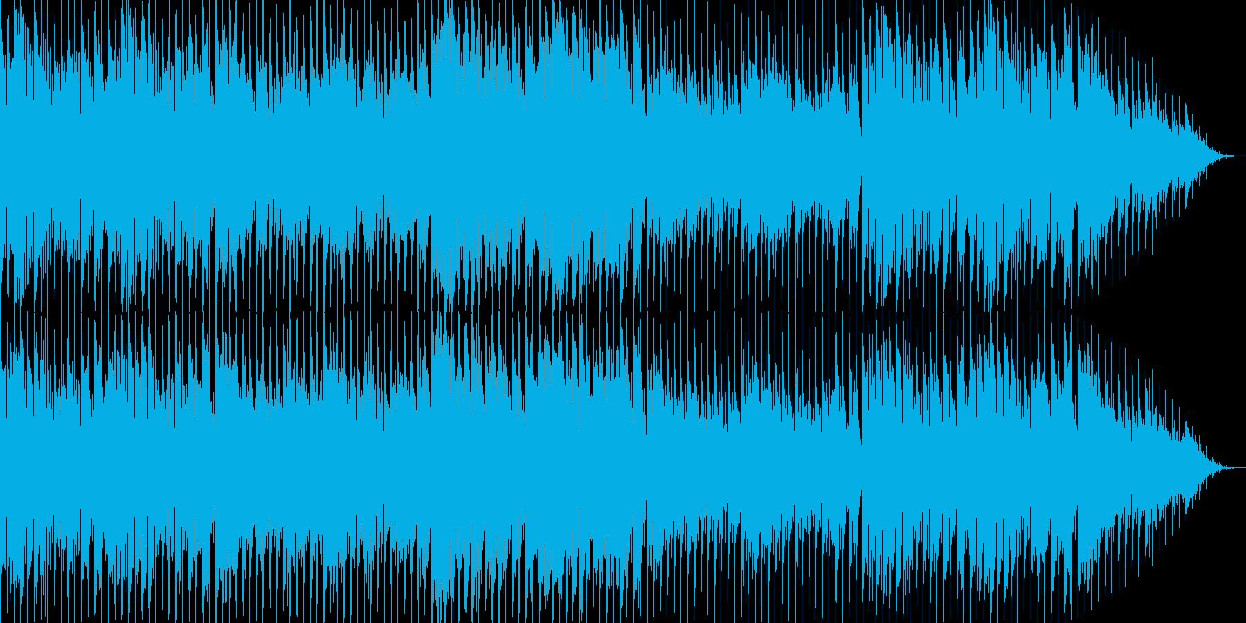 異国感のある民族風エレクトロBGMの再生済みの波形