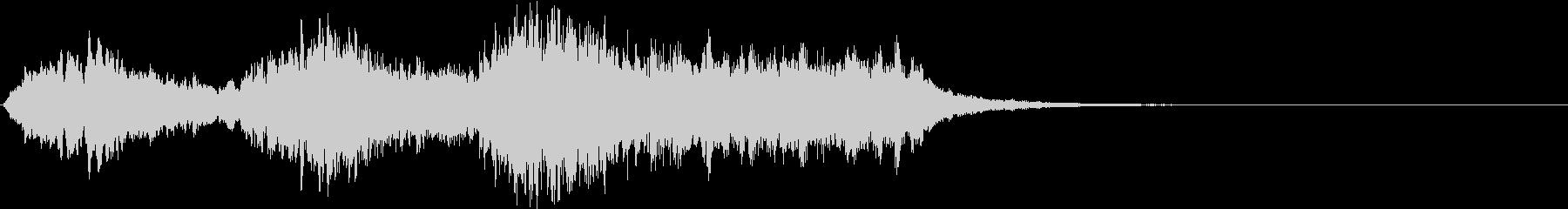 ボーイソプラノ5 アート芸術聖歌 10秒の未再生の波形