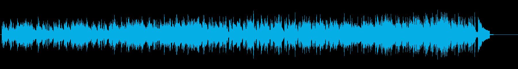 流麗でエレガントなアコースティックの再生済みの波形
