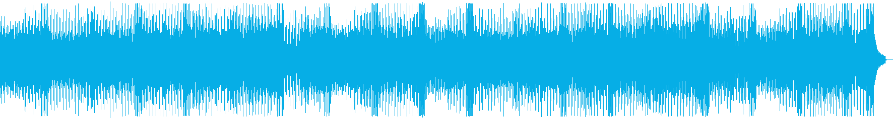 ファンキーイベントオープニング:フルx2の再生済みの波形