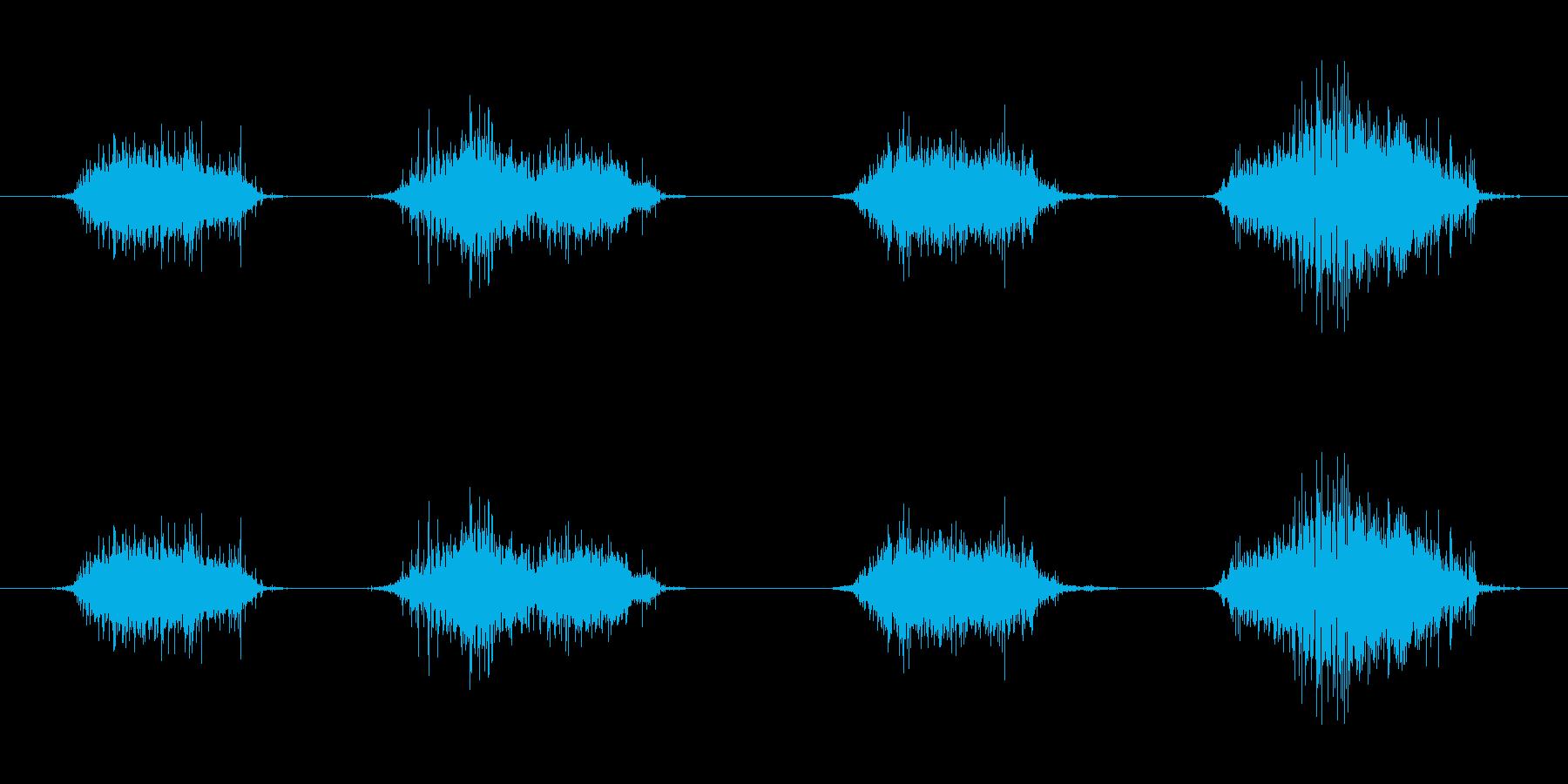 ずるずる這いずる音 モンスター の再生済みの波形