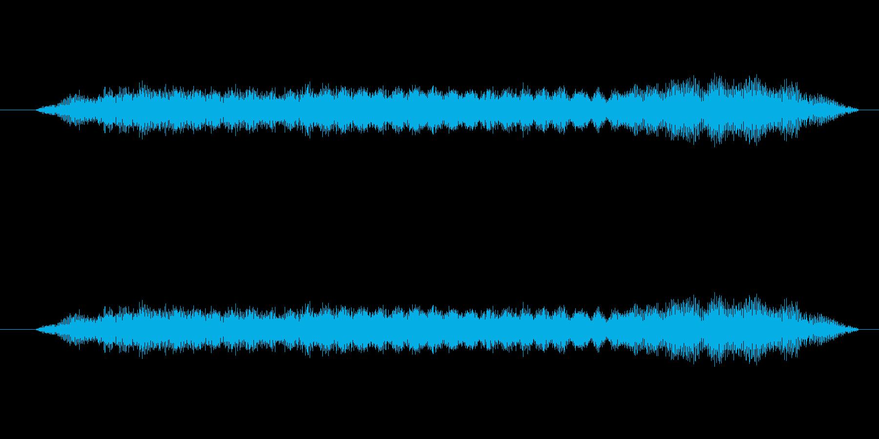 特撮 インターフェース計算02の再生済みの波形