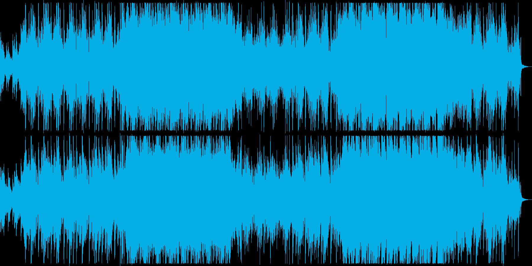 ポップなエレクトロニカ、映像やCM等にの再生済みの波形