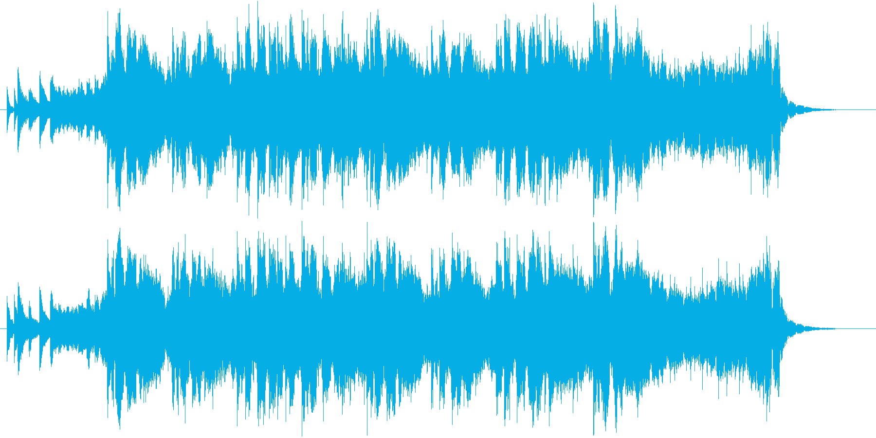 誕生日の歌(ダンスver)【ノリコ】の再生済みの波形