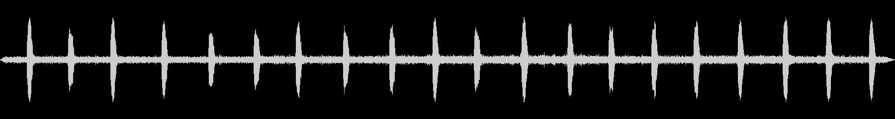 長い耳のフクロウ、ASIO OYU...の未再生の波形