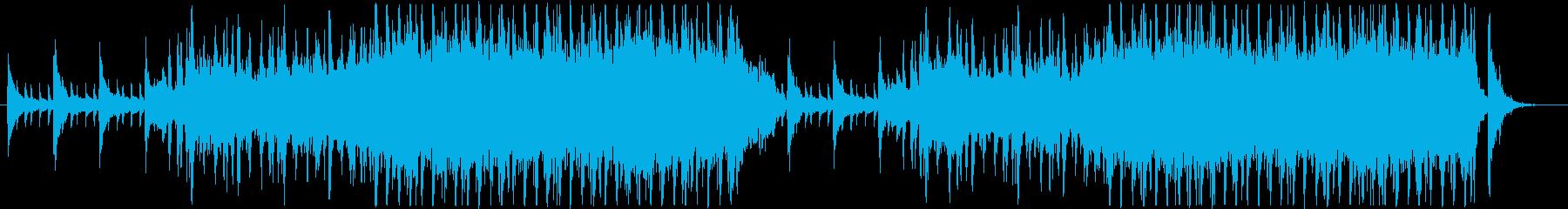 気品漂うリズム付オーケストラ曲(メロ有)の再生済みの波形