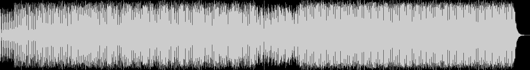 クールエレクトロニカハウスミュージックの未再生の波形