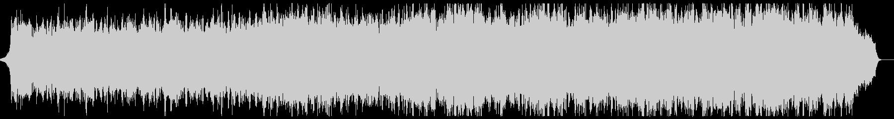 明るく上品なピアノ管弦楽:フル1回の未再生の波形