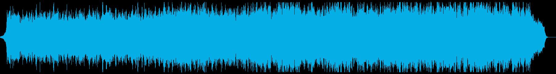 明るく上品なピアノ管弦楽:フル1回の再生済みの波形