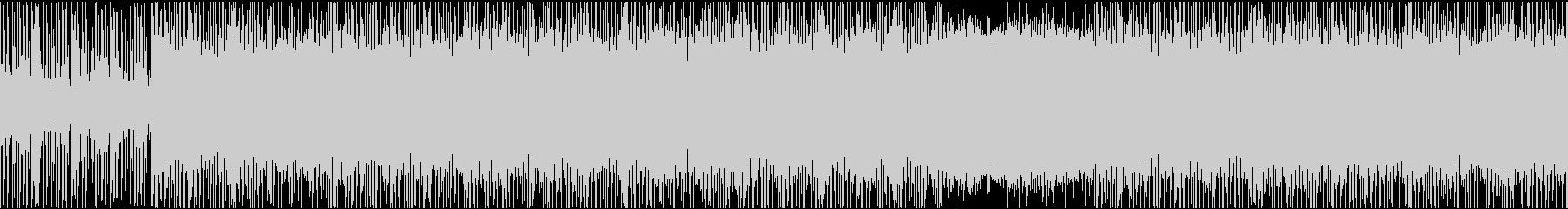 【ループ仕様】ダークな雰囲気のピアノ楽曲の未再生の波形
