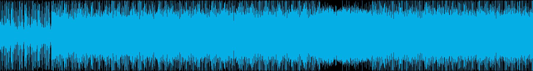 【ループ仕様】ダークな雰囲気のピアノ楽曲の再生済みの波形
