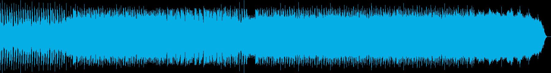 解説シーン向けコミカルEDMの再生済みの波形