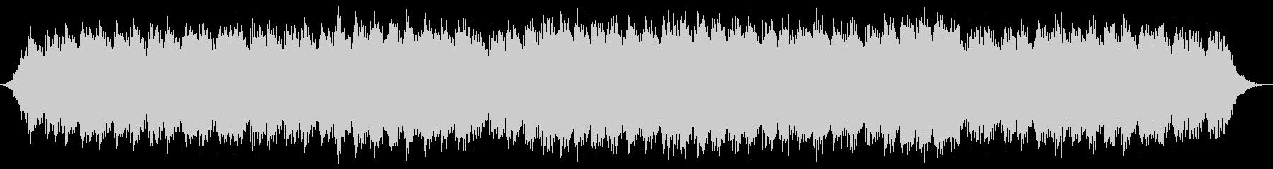 追跡シーン向けミニマルテクノの未再生の波形