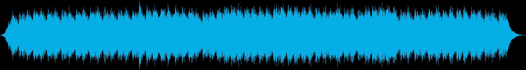 追跡シーン向けミニマルテクノの再生済みの波形