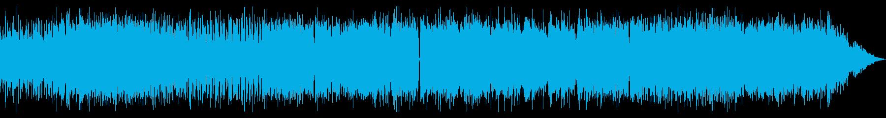 EDM + ヘヴィメタルの再生済みの波形