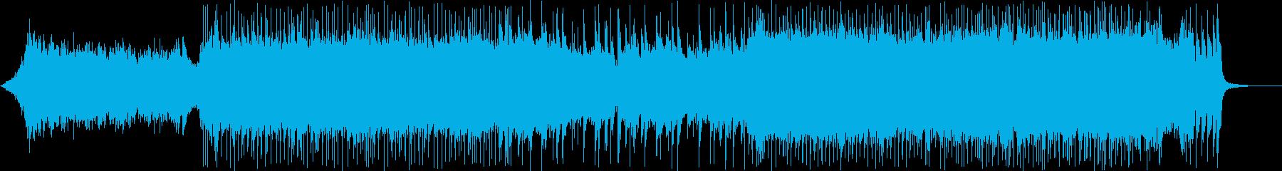 モダンでテクニカルなプログレッシブメタルの再生済みの波形