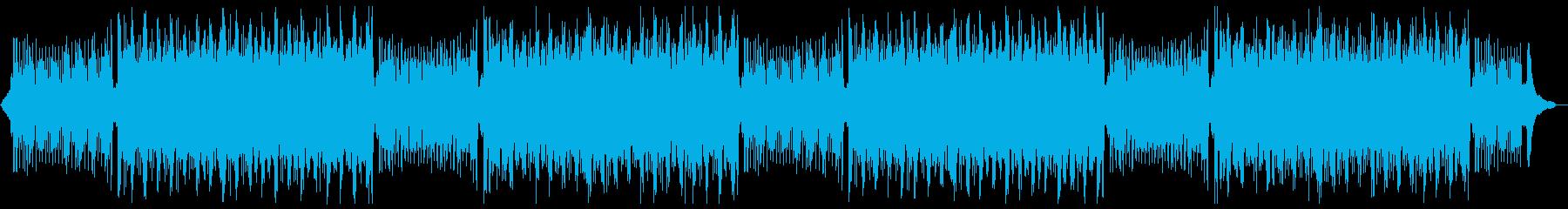 知的なピアノバイオリン:フルx2の再生済みの波形