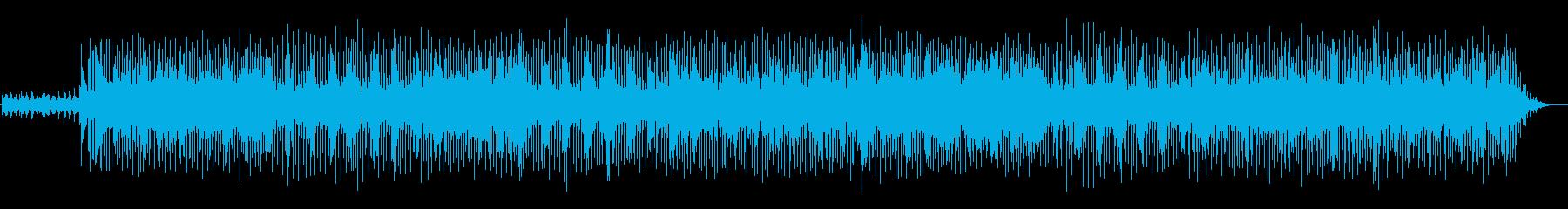 エレキギターが印象的なポップ・ロックの再生済みの波形