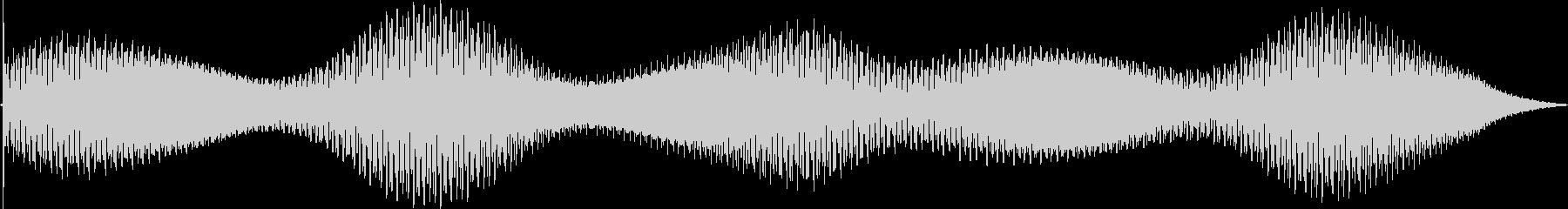 ディープトーンフェージング無線干渉静的の未再生の波形