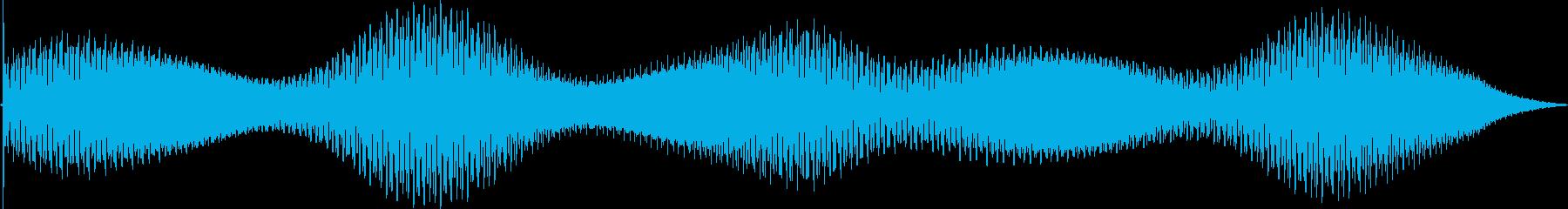 ディープトーンフェージング無線干渉静的の再生済みの波形